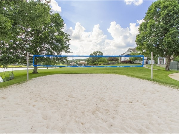 Beach Volleyball: One of the many outdoor activities Hampton Cove has to offer