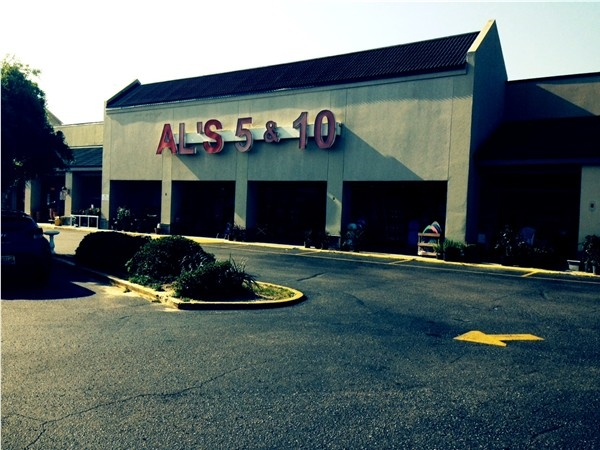 AL's 5 & 10 for everything you need and haven't found!  Gulf View Shopping Center, Orange Beach