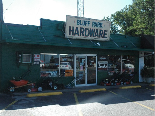 Take a step back in time at Bluff Park Hardware