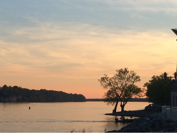 Sunset on the Tennessee River