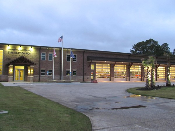 Gulf Shores Fire Station. What a beautiful building for the best firemen anywhere!