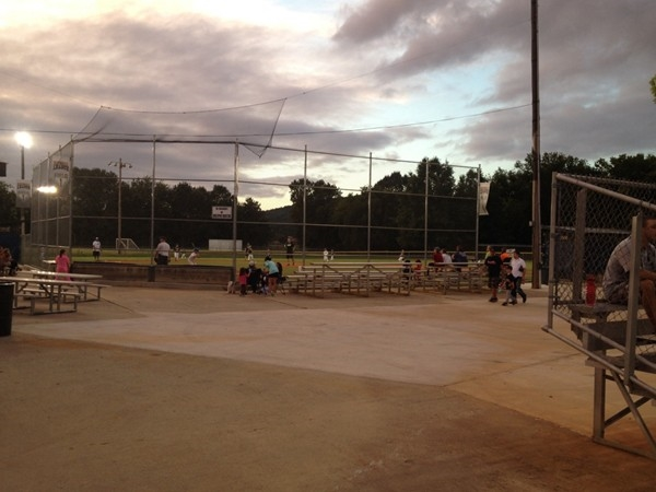View of ball game at McGucken Park