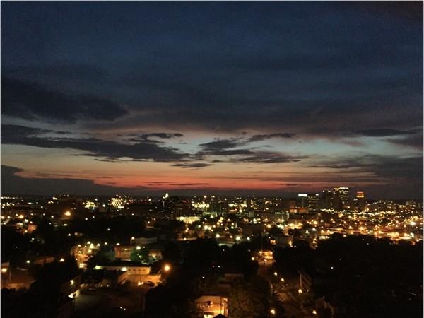 Summer sunset over Downtown Birmingham