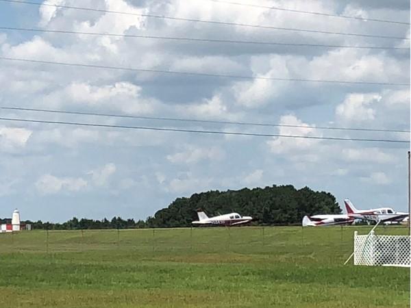 Planes at Enterprise Municipal Airport
