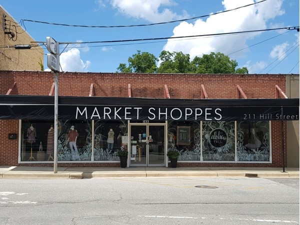 Market Shoppes is full of local owned and made clothing, decorations, and much more
