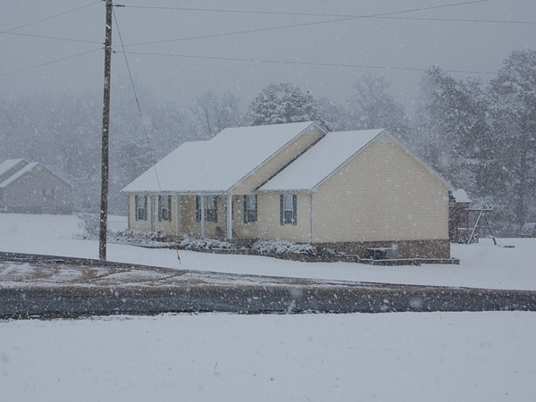 Who says you'll never have a white Christmas in Alabama?  Christmas 2010