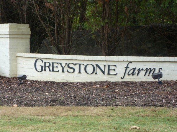 Greystone Farms is another neighborhood in the Greystone community