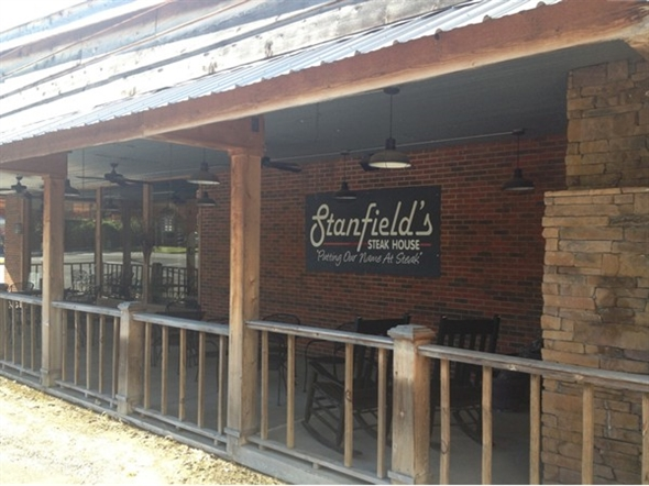 Want a great steak?  Come to Stanfield's