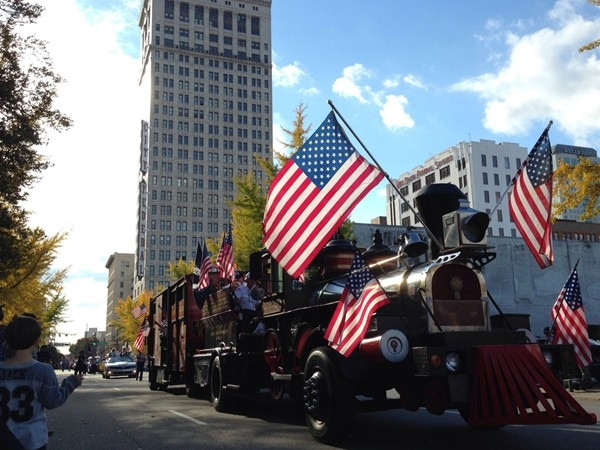 Historic Birmingham Veteran's Day Parade