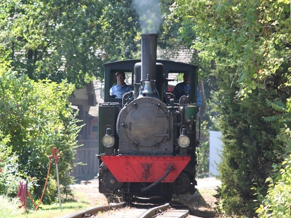 Take a scenic ride on the old train at Henry Doorly Zoo.