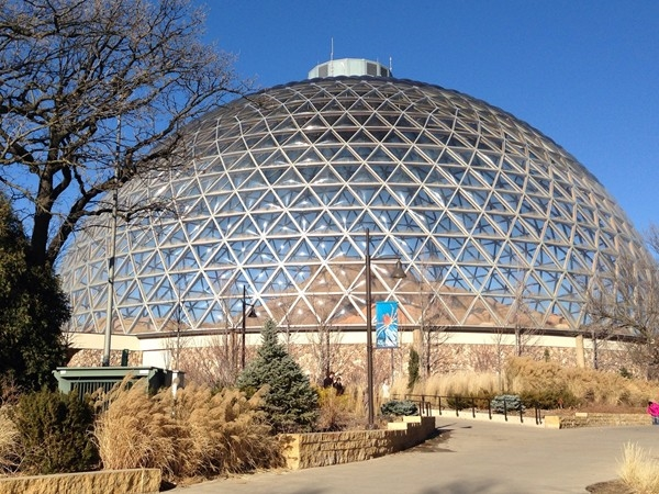 Desert Dome at Omaha's Henry Doorly Zoo