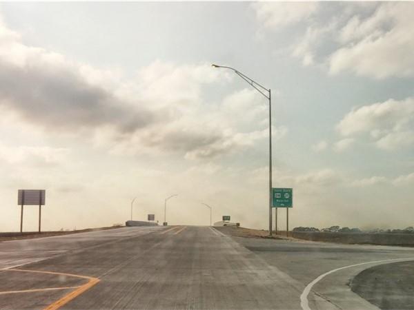 The long awaited Cedar Wapsi Rd/ Hwy 218 overpass is open
