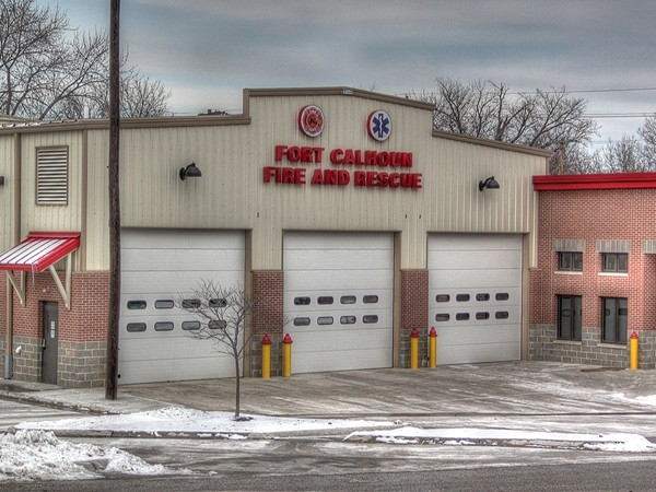 Fort Calhoun Fire & Rescue new facility