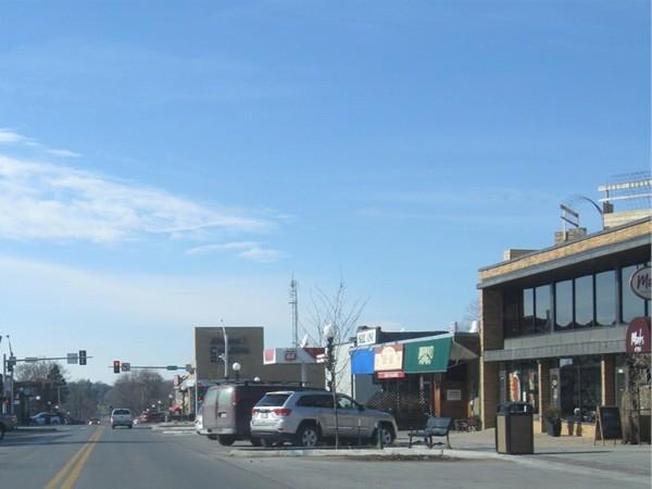 Dundee neighborhood in Omaha, Nebraska