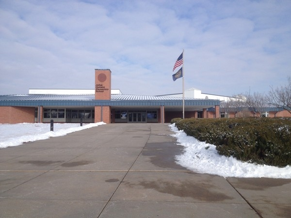 Humann Elementary, a highly rated school in the middle of Cripple Creek subdivision