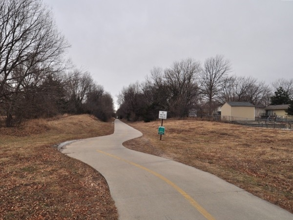 The Rock Island Trail that runs through the Southwood neighborhood.