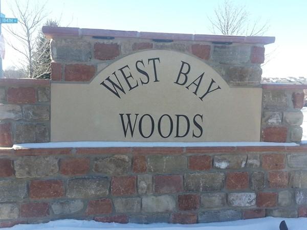 West Bay Woods neighborhood