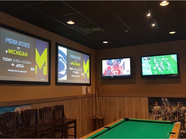 Beck's Taproom is the best place to watch your favorite college football teams