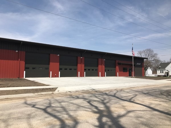 Jesup's new emergency services building