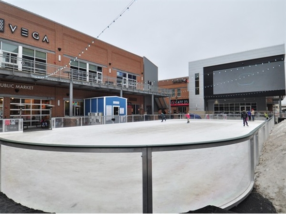The Railyard Skating Rink Haymarket