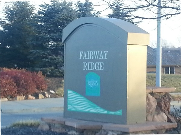Fairway Ridge entrance