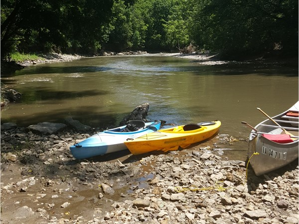 The Middle River in Madison County is just one of many great outdoor getaways close to DM