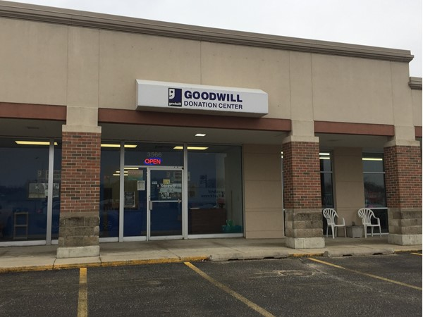 There's a nice Goodwill Donation Center on Lafayette Street