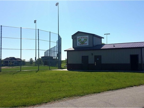 New athletic facilities built within the last ten years