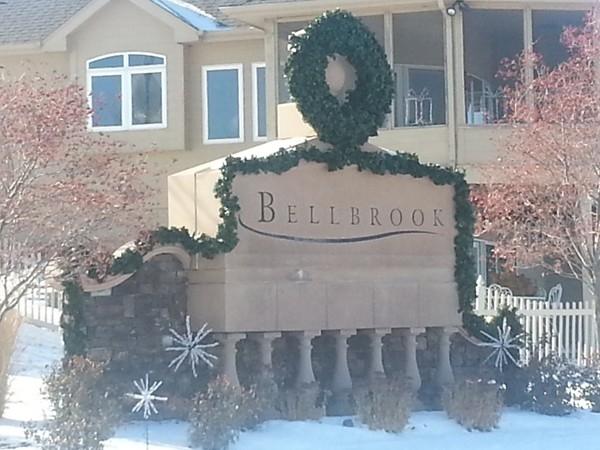 Entrance to the Bellbrook neighborhood