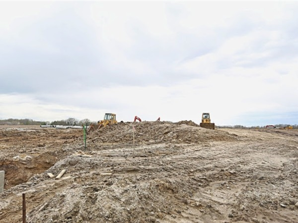 Lost Lake Estates in Polk City, Iowa - Status of the subdivision as of May 1st 2014