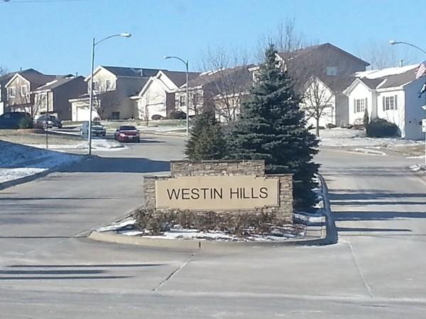 Westin Hills entrance