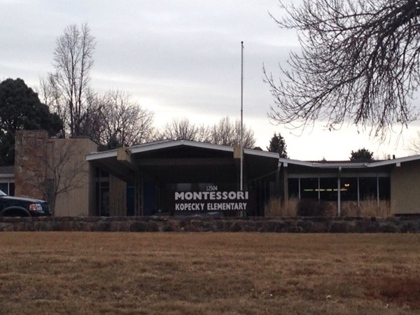 Montessori Kopecky Elementary at 124th and Pacific