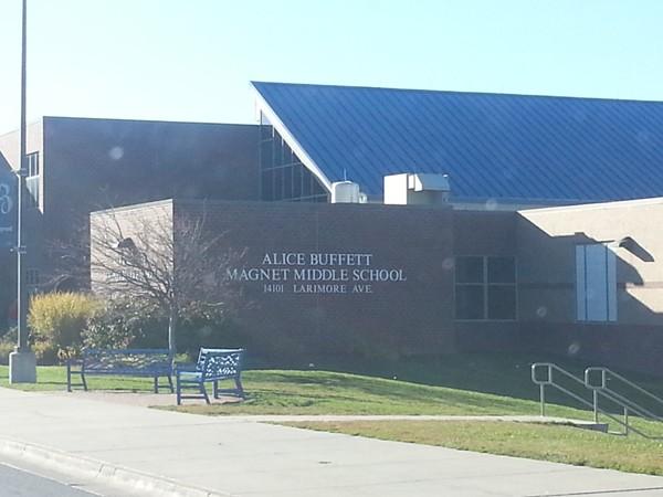 Alice Buffett Magnet Middle School in the in Hillsborough neighborhood