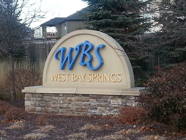 West Bay Springs entrance