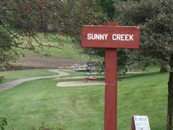 Sunny Creek is located right behind Fireside Christian Church