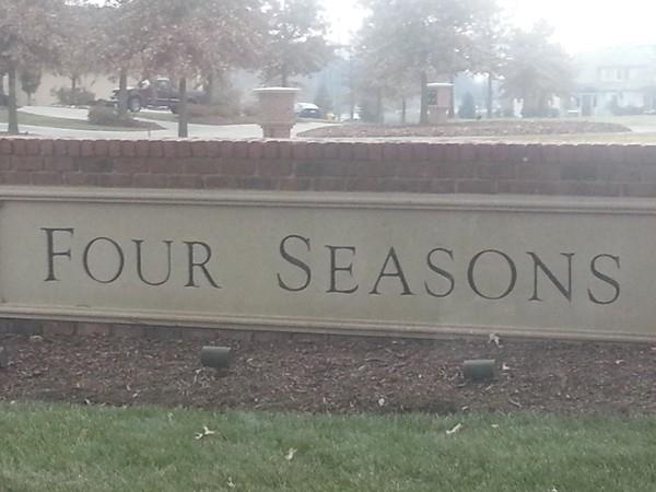 Entrance to Four Seasons