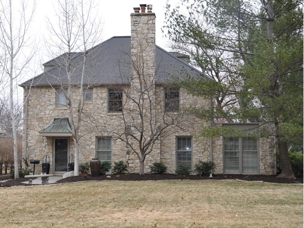Stone two story in Woodsshire - what a beauty!
