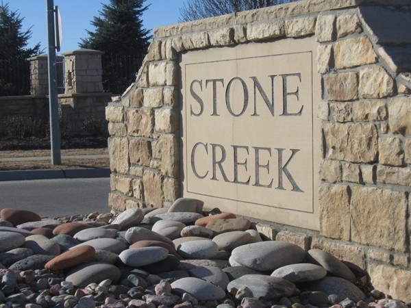 Stone Creek Subdivision in Northwest Omaha, Nebraska