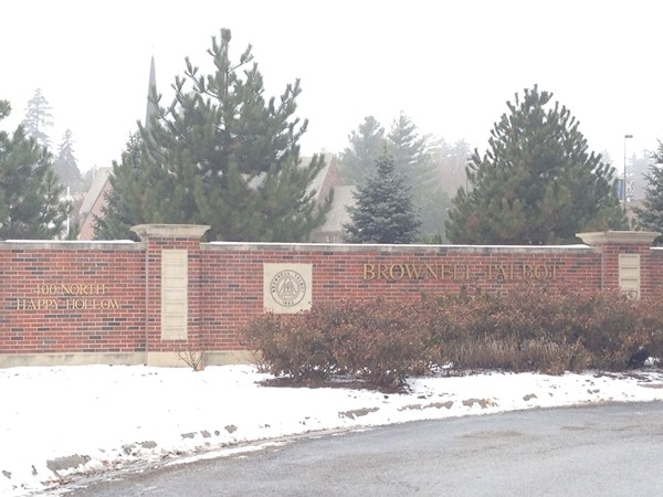 Entrance to Brownell-Talbot College Preperatory School
