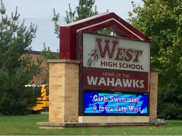 West High is one of two 4A high schools in Waterloo