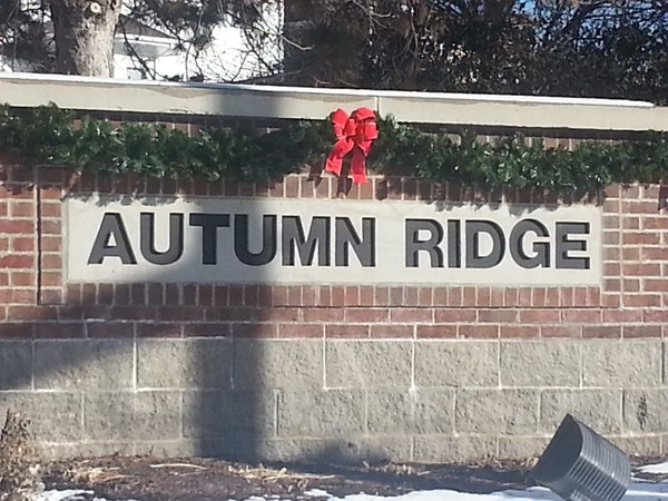 Autumn Ridge entrance
