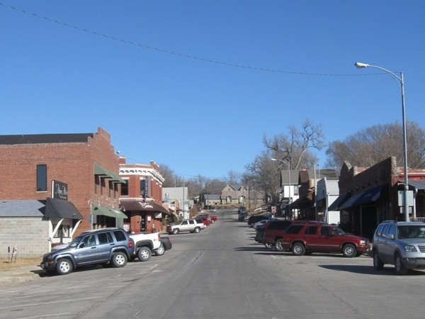 Downtown Elkhorn, Nebraska