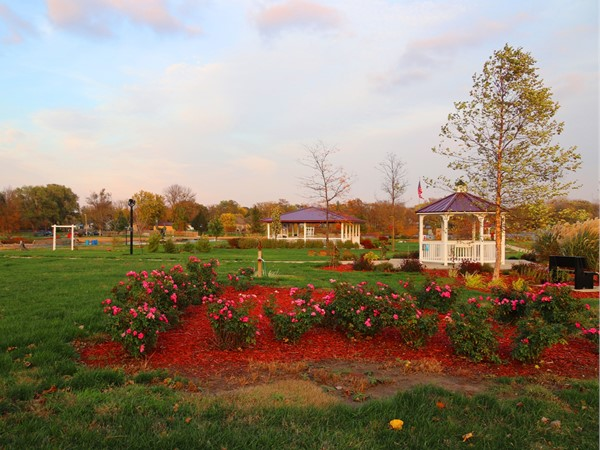 Angels Park in Evansdale is a memorial to many