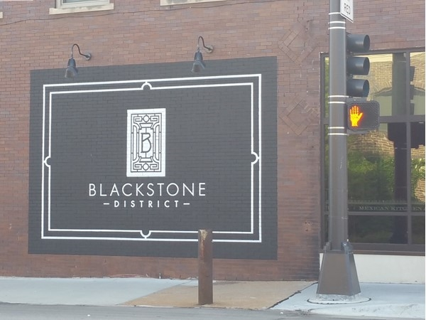 Blackstone District. You have arrived