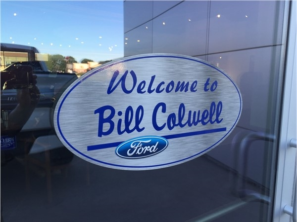 Great sales and service at Bill Colwell Ford