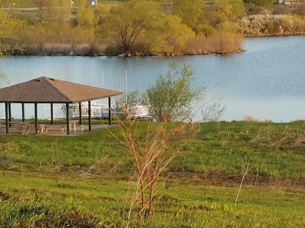 Tranquil setting on the Prairie Lakes Park. Calms the soul and brings you back to nature