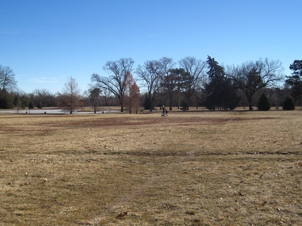 Wide open space to walk, run or have a picnic.  Pioneers Park has it all