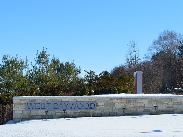 West Bay Woods 2 entrance, just south of 192nd and Center