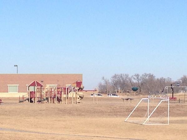 Thomas Elementary playground and field