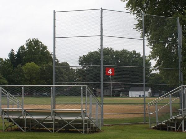 Long Grove has two separate baseball/softball diamonds